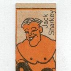 Coleccionismo deportivo: ANTIGUO CROMO DE BOXEO - JACK SHARKEY - CHOCOLATES NELIA - . Lote 128241687