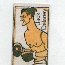 Coleccionismo deportivo: ANTIGUO CROMO DE BOXEO - JACK DELANEY - CHOCOLATES NELIA - . Lote 128241915