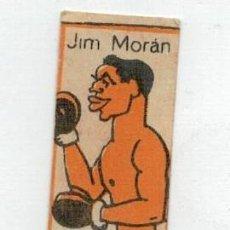 Coleccionismo deportivo: ANTIGUO CROMO DE BOXEO - JIM MORAN - CHOCOLATES NELIA - . Lote 128242067