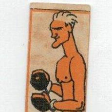 Coleccionismo deportivo: ANTIGUO CROMO DE BOXEO - JORGE CARPENTIER - CHOCOLATES NELIA - . Lote 128242183