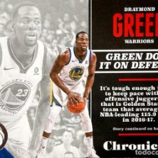 Coleccionismo deportivo: 40 DRAYMOND GREEN - GOLDEN STATE WARRIORS - PANINI CHRONICLES AMERICA NBA BASKETBALL 2017 2018 17 18. Lote 128480383