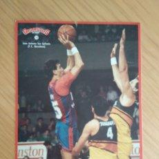 Coleccionismo deportivo: PEGATINA EPI GIGANTES DEL BASKET NÚM. 10. Lote 129060240