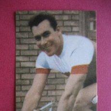 Coleccionismo deportivo: ALBUM CICLISTA 1962 - VUELTA GIRO TOUR - Nº 44 CARRARA ...... - ED. VASCO AMERICANA. Lote 129526011