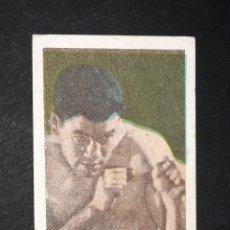 Coleccionismo deportivo: CROMO BOXEO P.UZCUDUN - CHOCOLATES LLOVERAS. Lote 130756328