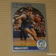 Coleccionismo deportivo: 189 TOD MURPHY (MINNESOTA TIMBERWOLVES) NBA HOOPS 90-91. 1990. Lote 130814092