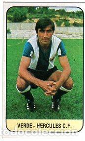 LIGA 78/79. VERDE. HERCULES CLUB DE FUTBOL. EDICIONES ESTE. PERFECTO ESTADO. NUEVO. (Coleccionismo Deportivo - Cromos otros Deportes)