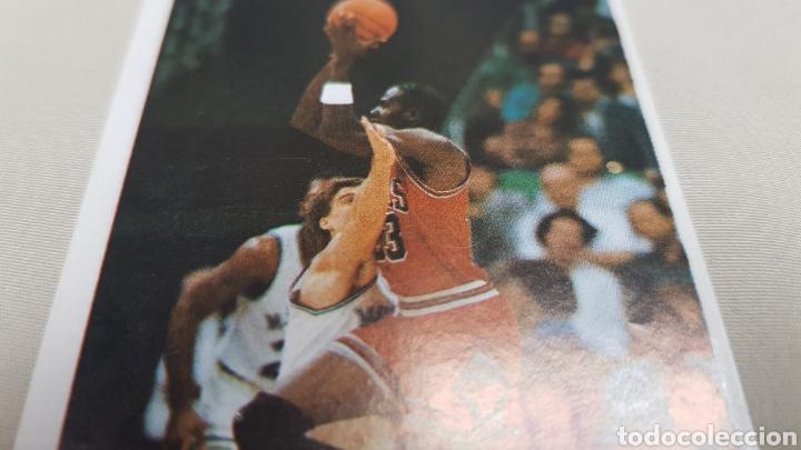 Coleccionismo deportivo: Michael jordan, n°146, cromo sticker gigantes del basket converse 87/88 nunca pegado - Foto 4 - 142832294