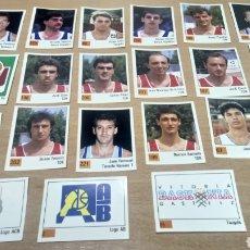 Coleccionismo deportivo: LOTE DE CROMOS ANTIGUOS BALONCESTO ACB. Lote 133988370