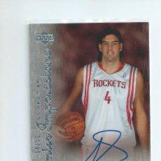 Collezionismo sportivo: NBA UPPER DECKI 2007 - 08 : AUTOGRAFO LUIS SCOLA (ACB EX BASKONIA). Lote 134829230