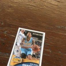 Coleccionismo deportivo: NBA PANINI 2015 2016 SIN PEGAR DENVER NUGGETS CHANDLER. Lote 134842146