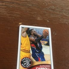 Coleccionismo deportivo: NBA PANINI 2015 2016 SIN PEGAR DEMARRE CARROLL TORONTO RAPTORS. Lote 134844163