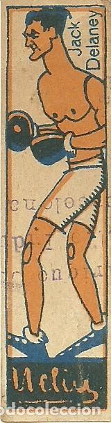 Coleccionismo deportivo: (PA-181000)LOTE DE 8 CROMOS DE BOXEO AÑOS 20 - CHOCOLATES NELIA - Foto 7 - 135255322