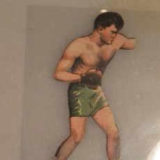 Coleccionismo deportivo: CROMO TROQUELADO DE BOXEO FIRPO CONTRA DEMPSEY Nº 6 CHOCOLATES JAIME BOIX BARCELONA. Lote 135359614
