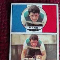 Coleccionismo deportivo: CROMO CICLISMO BERNARD VALLET N° 83 ASES DEL PEDAL. Lote 137944546