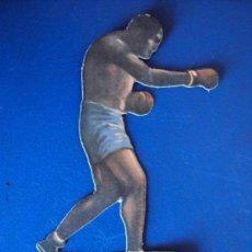 Coleccionismo deportivo: (PA-28)CROMO TROQUELADO BOXEO-JAIME BOIX-GOFREY CONTRA UZCUDUN. Lote 138205782