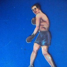 Coleccionismo deportivo: (PA-25)CROMO TROQUELADO BOXEO-CHOCOLATES JAIME BOIX-MARTINEZ CONTRA SIO TERRIS. Lote 138208542