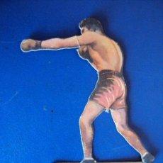 Coleccionismo deportivo: (PA-14)CROMO TROQUELADO BOXEO-CHOCOLATES JAIME BOIX-GEORGES COOK CONTRA UZCUDUM. Lote 138223206