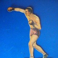 Coleccionismo deportivo: (PA-5)CROMO TROQUELADO BOXEO-CHOCOLATES JAIME BOIX-FRANCK GOODARD CONTRA UZCUDUN. Lote 138228870