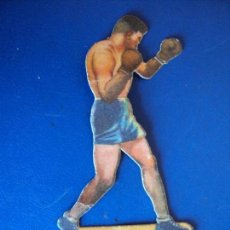 Coleccionismo deportivo: (PA-4)CROMO TROQUELADO BOXEO-CHOCOLATES JAIME BOIX-HEENEY CONTRA TUNNEY. Lote 138229390