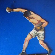 Coleccionismo deportivo: (PA-2)CROMO TROQUELADO BOXEO-CHOCOLATES JAIME BOIX-DEMPSEY CONTRA SHARKEY. Lote 138230674