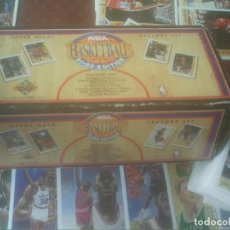 Coleccionismo deportivo: NBA BASKETBALL 91-92 EDITION COMPLETA UPPER DECK 500 CROMOS. Lote 140852898