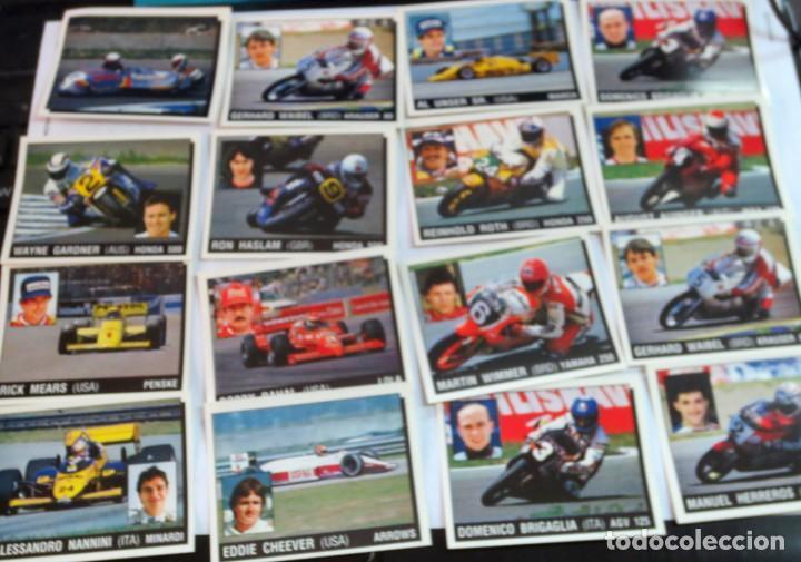 LOTE DE 216 CROMOS MOTOR ADVENTURES COCHES MOTOS EDIT PANINI (Coleccionismo Deportivo - Cromos otros Deportes)