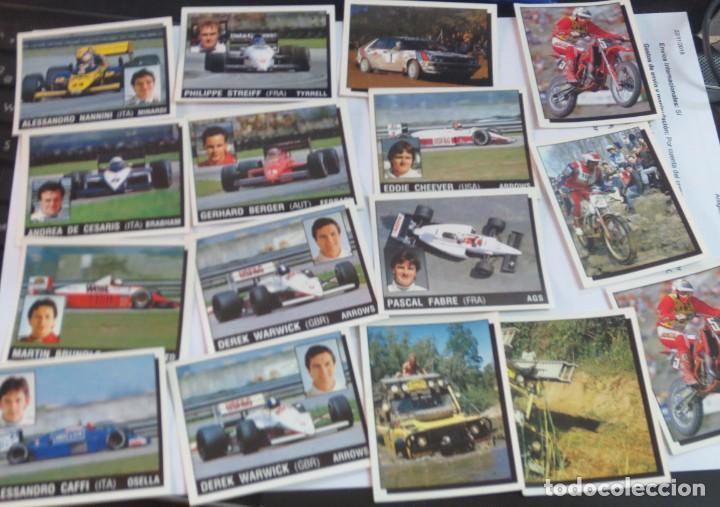 Coleccionismo deportivo: LOTE DE 216 CROMOS MOTOR ADVENTURES COCHES MOTOS EDIT PANINI - Foto 2 - 141471494