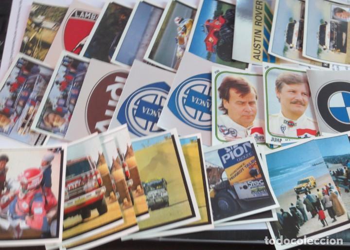 Coleccionismo deportivo: LOTE DE 216 CROMOS MOTOR ADVENTURES COCHES MOTOS EDIT PANINI - Foto 3 - 141471494