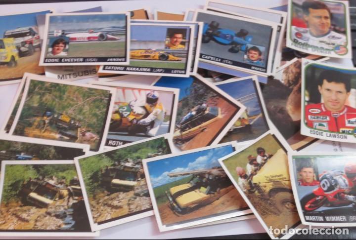 Coleccionismo deportivo: LOTE DE 216 CROMOS MOTOR ADVENTURES COCHES MOTOS EDIT PANINI - Foto 4 - 141471494