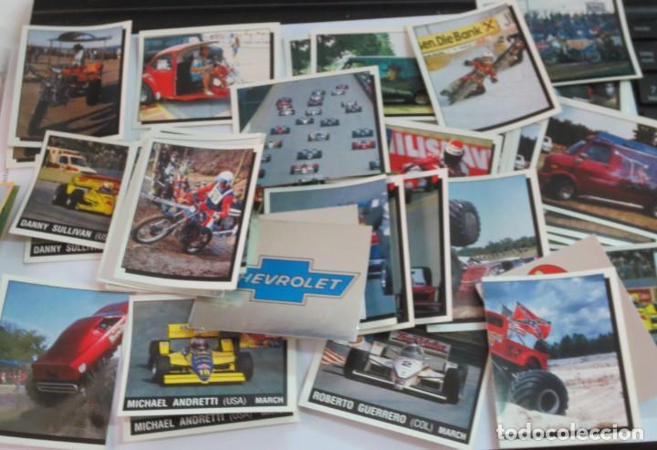 Coleccionismo deportivo: LOTE DE 216 CROMOS MOTOR ADVENTURES COCHES MOTOS EDIT PANINI - Foto 7 - 141471494