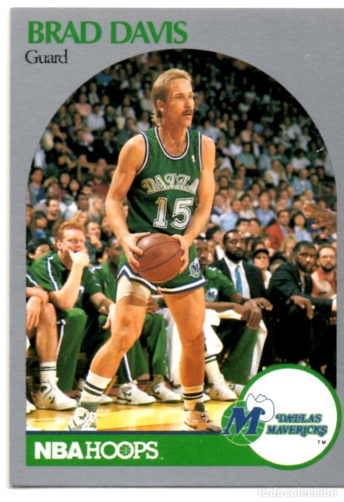 info for a00ee 187de Brad Davis 84 NBA Hoops 90-91 Dallas Mavericks Mavs