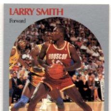Coleccionismo deportivo: LARRY SMITH 128 NBA HOOPS 90-91 HOUSTON ROCKETS. Lote 152570834
