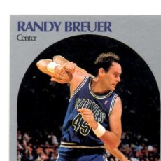 Coleccionismo deportivo: RANDY BREUER 184 NBA HOOPS 90-91 MINNESOTA TIMBERWOLVES WOLVES. Lote 148279400
