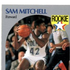 Coleccionismo deportivo: SAM MITCHELL 188 NBA HOOPS 90-91 MINNESOTA TIMBERWOLVES WOLVES. Lote 148279508