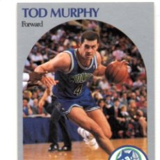 Coleccionismo deportivo: TOD MURPHY 189 NBA HOOPS 90-91 MINNESOTA TIMBERWOLVES WOLVES. Lote 148279542
