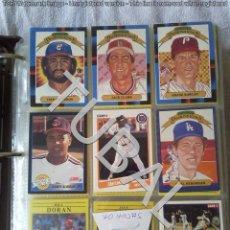 Coleccionismo deportivo: TUBAL 628 CARTAS CROMOS DE BEISBOL CARDS BASEBALL USA MLB TOPPS 3 KILOS. Lote 142764606