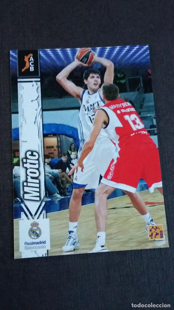 Coleccionismo deportivo: LIGA ACB 2010 2011 - 280 MIROTIC ( REAL MADRID ) - ( ROOKIE CARD ) - Foto 1 - 142950510
