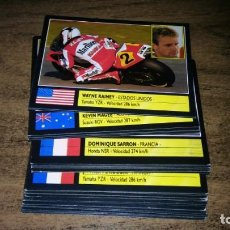 Coleccionismo deportivo: ALBUM SUPER MOTO (ESTE 1990) - 33 CROMOS PILOTOS MUNDIAL VELOCIDAD 1990. Lote 143068378