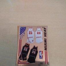 Coleccionismo deportivo: PANINI NBA 89. 162 EQUIPACIÓN MIAMI HEAT. Lote 143773014