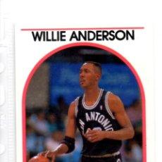 Coleccionismo deportivo: NBA HOOPS 89-90 WILLIE ANDERSON 235. Lote 144120510