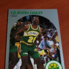 Coleccionismo deportivo: NBA HOOPS 90-91 QUINTIN DAILEY 276 SEATTLE SUPERSONICS. Lote 144295289