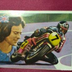 Coleccionismo deportivo: ASES MUNDIALES DEL DEPORTE. Nº 213. SHEENE. MOTOCICLISMO. QUELCOM. NUNCA PEGADO. Lote 144638222
