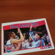 Coleccionismo deportivo: NEW JERSEY NETS 290 NBA HOOPS 91-92. Lote 146269058