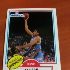 Coleccionismo deportivo: PERVIS ELLISON 164 NBA FLEER 90 WASHINGTON BULLETS. Lote 146408705