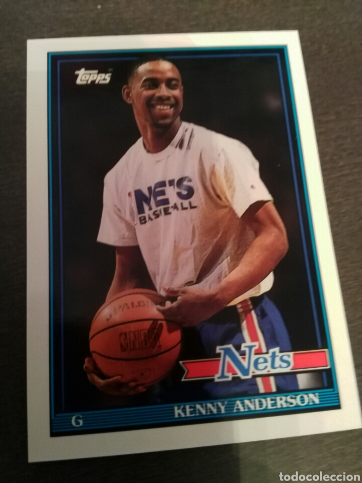 960da5b83ee KENNY ANDERSON 140 92-93 TOPPS ARCHIVES NBA NEW JERSEY NETS (Coleccionismo  Deportivo -
