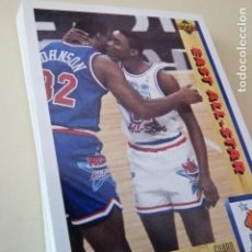 Coleccionismo deportivo: LOTE 17 CROMOS UPPER DECK PREMIER NBA EURO EDITION BASKETBALL COLLECTOR ALBUM 91-92 1992. Lote 148788366
