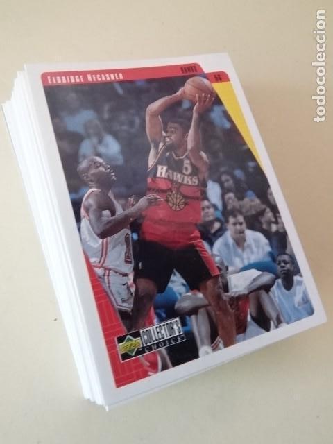 LOTE 35 CROMOS UPPER DECK NBA BASKETBALL COLLECTOR ALBUM 97-98 1998 (Coleccionismo Deportivo - Cromos otros Deportes)
