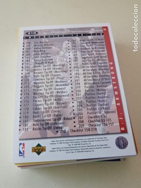 Coleccionismo deportivo: Lote 28 CROMOS UPPER DECK 94-95 (1994) 1994 1995 94 95 NBA - Foto 2 - 148791538