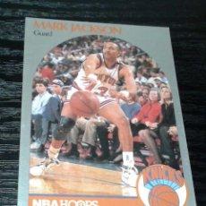 Coleccionismo deportivo: -NBA HOOPS 90-91 : 205 MARK JACKSON ( NEW YORK KNICKS ) HERMANOS MENENDEZ MURDERERS LYLE & ERIK. Lote 148979914