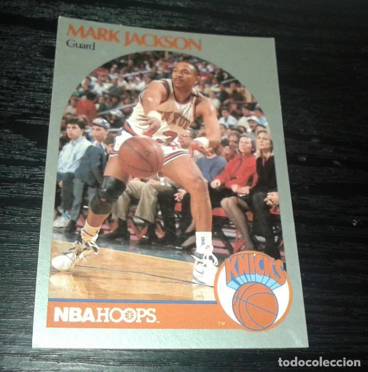 Coleccionismo deportivo: -NBA HOOPS 90-91 : 205 MARK JACKSON ( NEW YORK KNICKS ) HERMANOS MENENDEZ - Foto 1 - 149376162